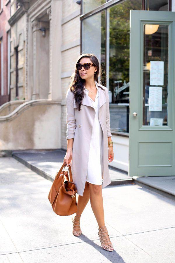 Easy Draped Trench - H&M shirtdress // Reiss trench c/o Schutz heels c/o // Meli Melo bag // Celine sunglasses Thursday, September 3, 2015