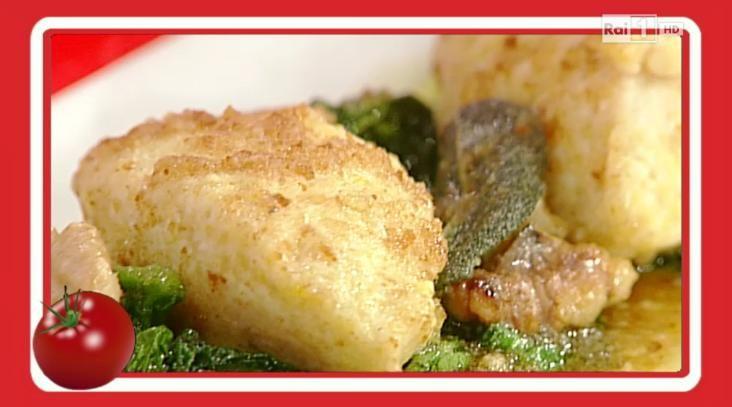 La ricetta degli gnocchi di ricotta con noci e spinaci di Paolo Zoppolatti – La prova del cuoco