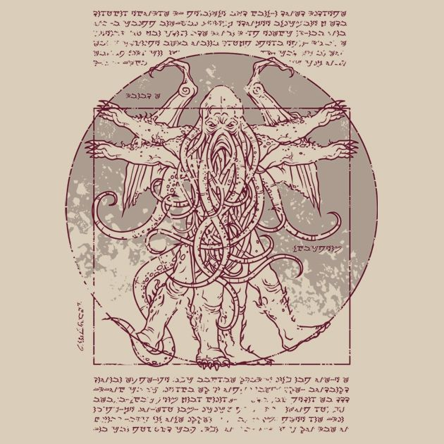 Lovecraftian Man by drsimonbutler