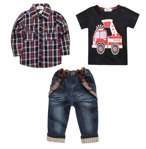 Комплект из 3 предметов - штаны, рубашка и футболка. Нашла здесь - http://ali.pub/wcnit
