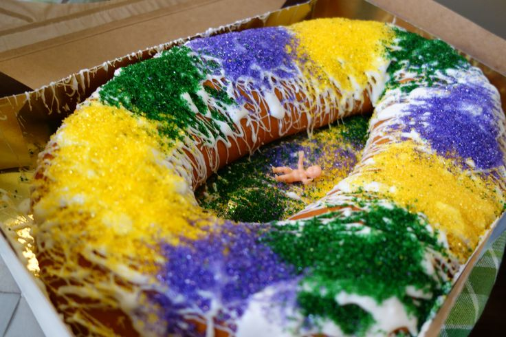 Where to find King Cake in New Orleans!