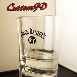 Cool Jack Daniels Glass Tumbler Old No 7 BNIB