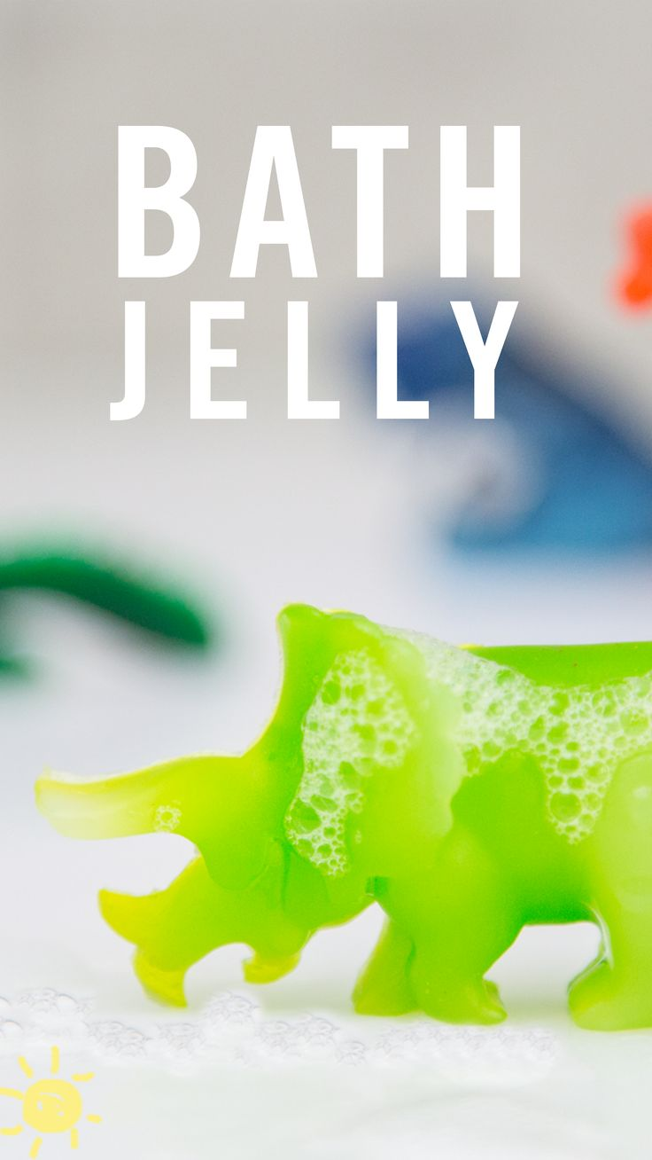These bath jellies are the perfect addition to bath time and make getting clean so much fun!