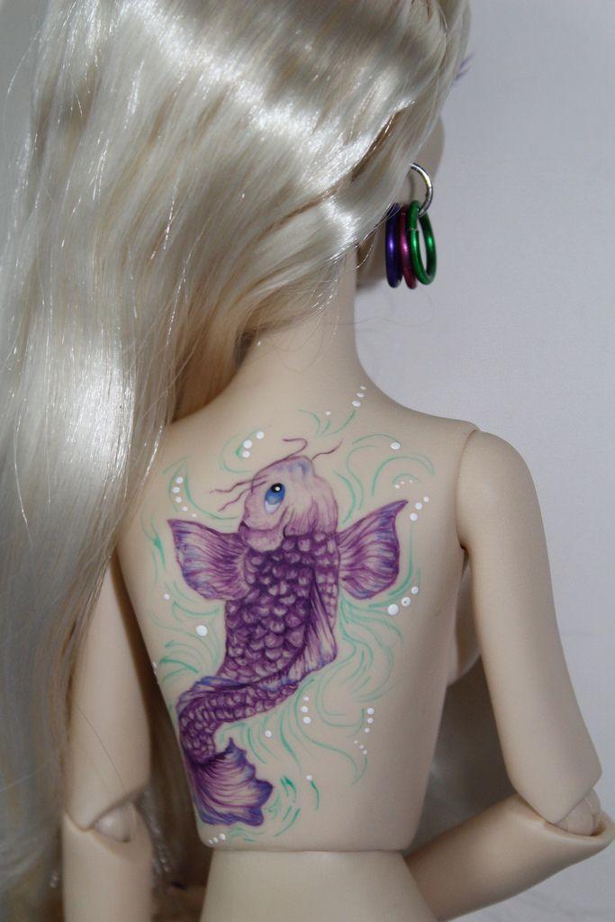 Все размеры | Давина, привидениями Мелодия ДЖОБЕ искусства кои татуировки или Flickr - размещение фотографий!