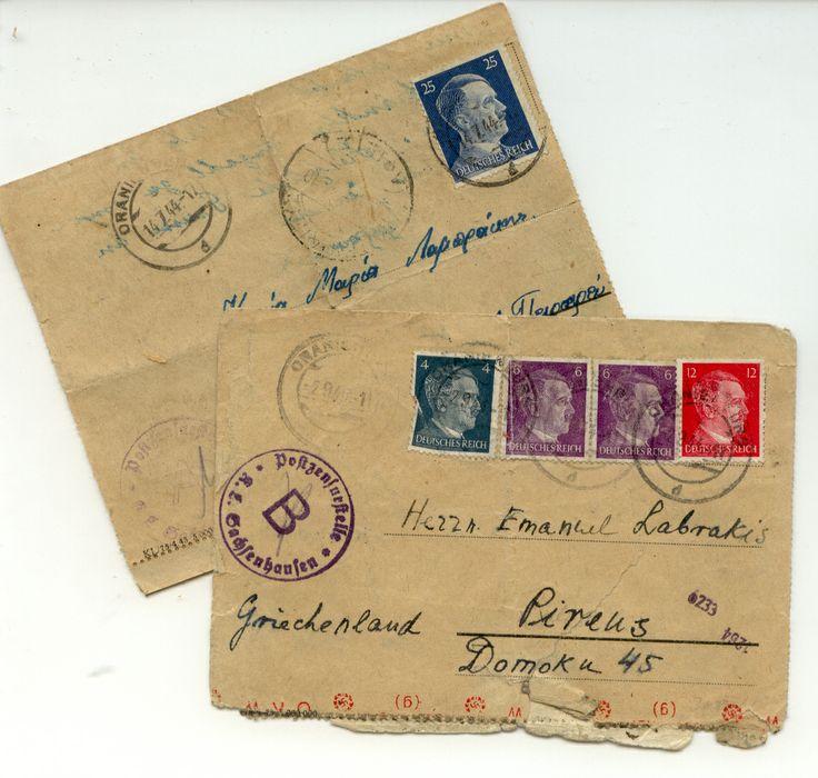 Letter from Oranienburg
