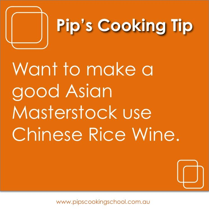 Asian Cooking Tip