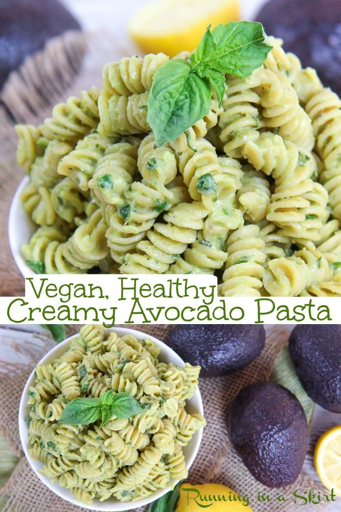 Vegan Avocado Pasta In 2020 Creamy Avocado Pasta Avocado Recipes Pasta Avocado Pasta