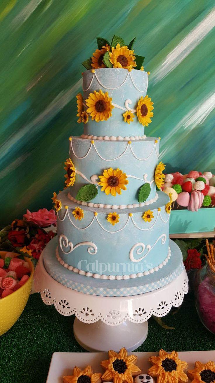 Frozen Fever fondant cake