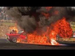 When Burnouts Go Bad