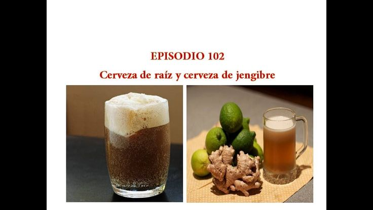 Español prueba cerveza Episodio 102 Cerveza de raiz y cerveza de jengibre