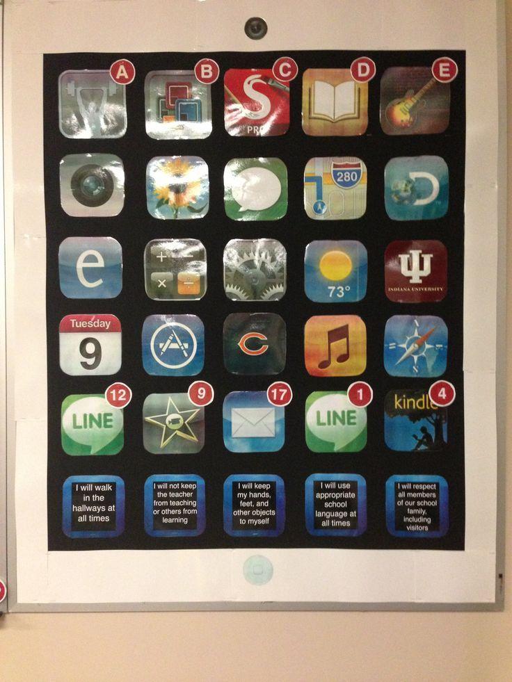 Classroom Ipad Ideas ~ Best ipad bulletin board ideas on pinterest teacher