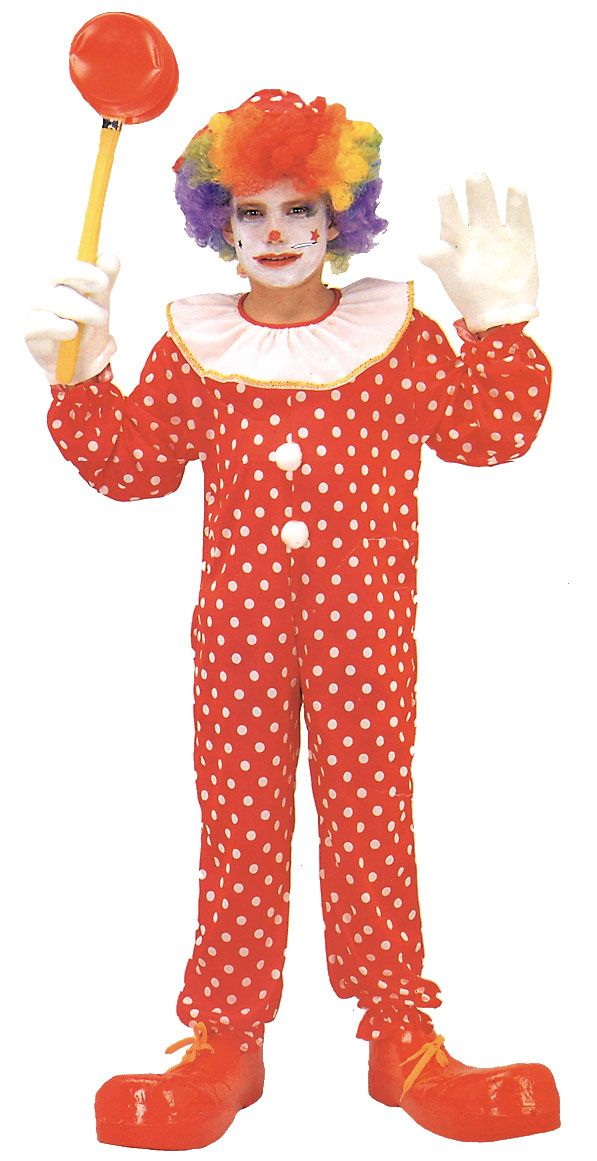 Cool Costumes Deluxe Clown Costume, Child just added...