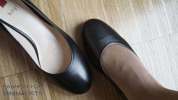Minimalistic allrounder in black #blackshoe #högl #comfortchic