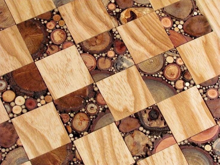 chess set .. $349.00, via Etsy.