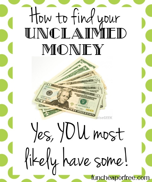 Cool government website that helps you claim money that you most likely have forgotten about. I typed my name in and TWO unclaimed funds popped up! #website #money #freebie #funcheaporfree
