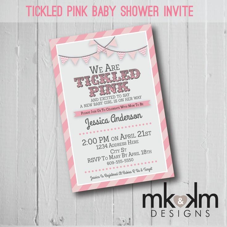 29 best Tickled Pink Shower images on Pinterest   Birthdays, Dessert ...
