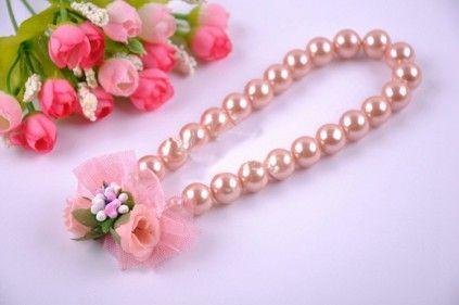 Brown Beads Designer Necklace for Infant Girls. #girlsjewelry #babyfashion #babyfashionjewelry #infantwear #kidsaccessories #fancyjewelry #babystyle #kidsjewelry #babyshop