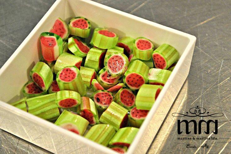 Rebuçados artesanais de melancia! www.martinsemartins.com