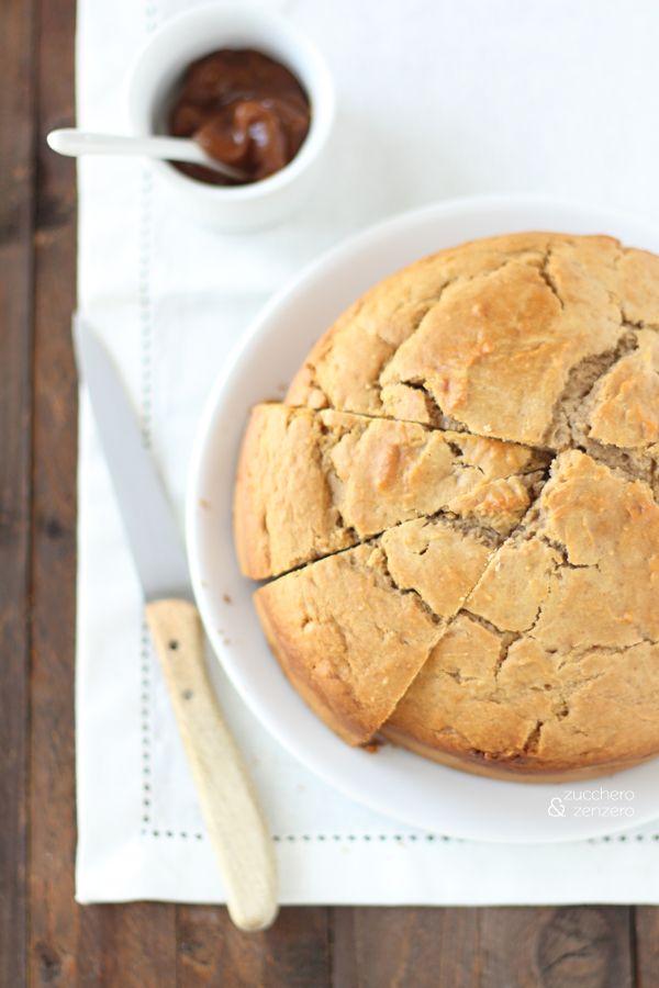 Torta alla crema di marroni, mandorle e cioccolato bianco (senza zuccheri…