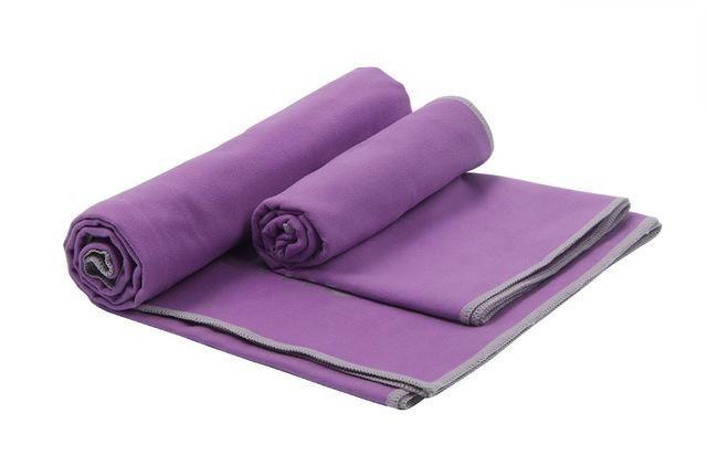 2 PCS/Lot Microfiber Sport Towel Summer Cooling Quick Drying Towels Set Gym Yoga Kits for Adult 150*75cm+100*50cm Outdoor Towel