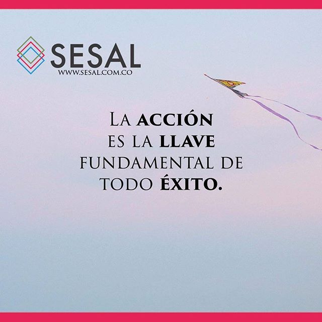 La acción es la llave fundamental de todo éxito. Pablo Picasso #sesal #marketing #venezuela #colombia #españa #venezolanosencolombia #marketing #marketingdigital #creamostuempresa #emprende #ssl#salud #empresas #sisepuede