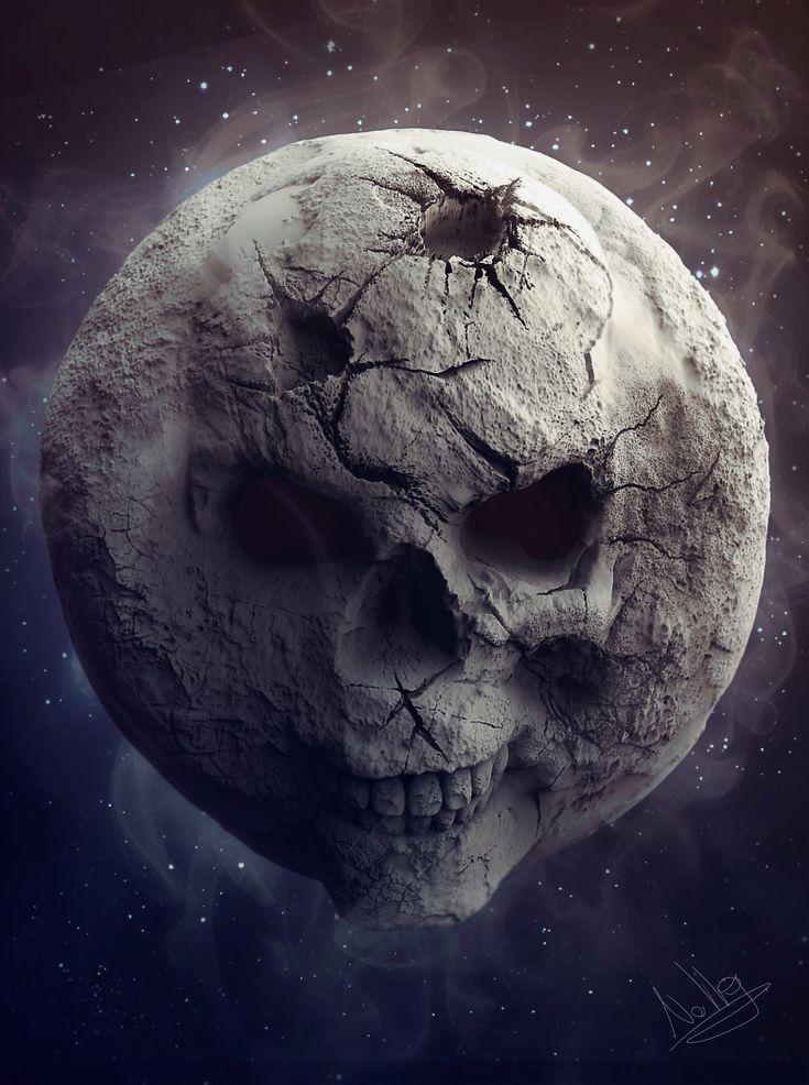 ArtStation - Skull Moon, Sebastiano Di Grazia