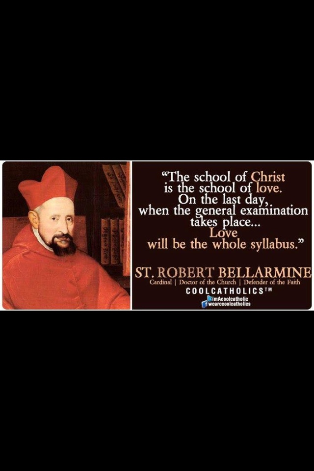 St Robert Bellarmine | Quotes By Saints | Pinterest ...