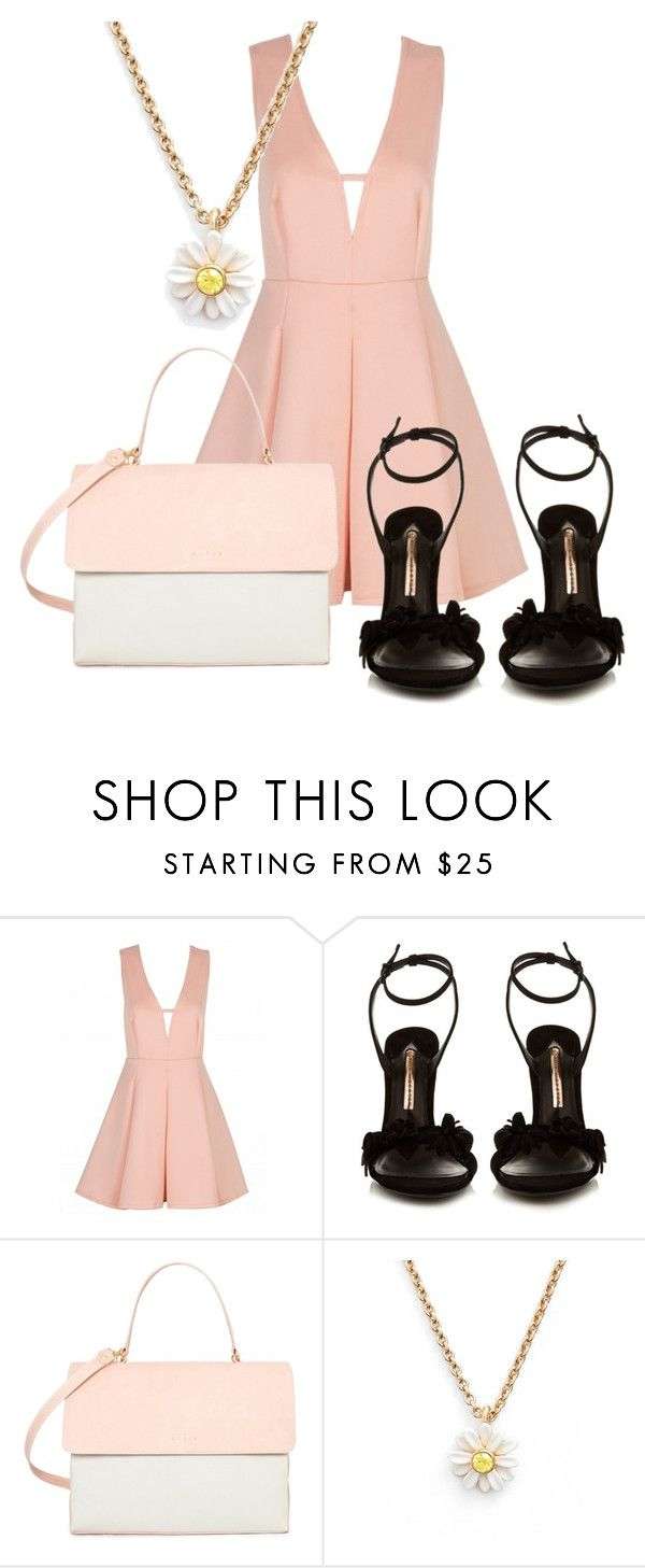 155 by potato-cupcake on Polyvore featuring Sophia Webster, Eddie and Kate Spade