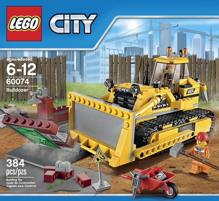 LEGO City Bulldozer 60074 - Discount Toys USA