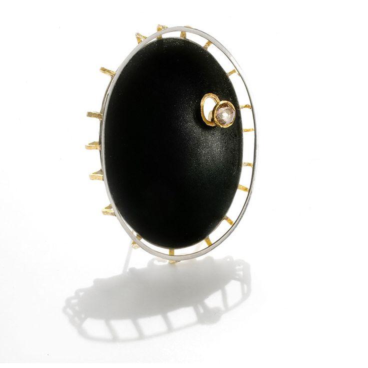 "Torben Hardenberg, ""Nine eleven broche"", 2002 #smykker #jewelry #danishdesign"