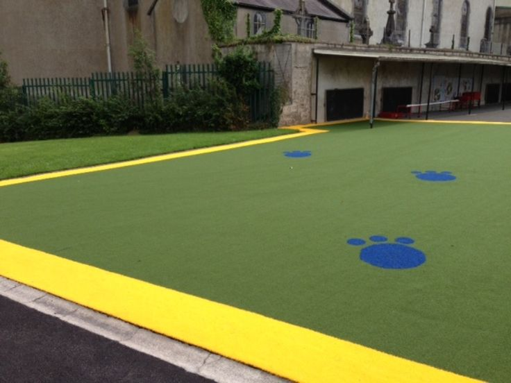 Our grass transforms drab and boring surfaces inviting play and fun for children