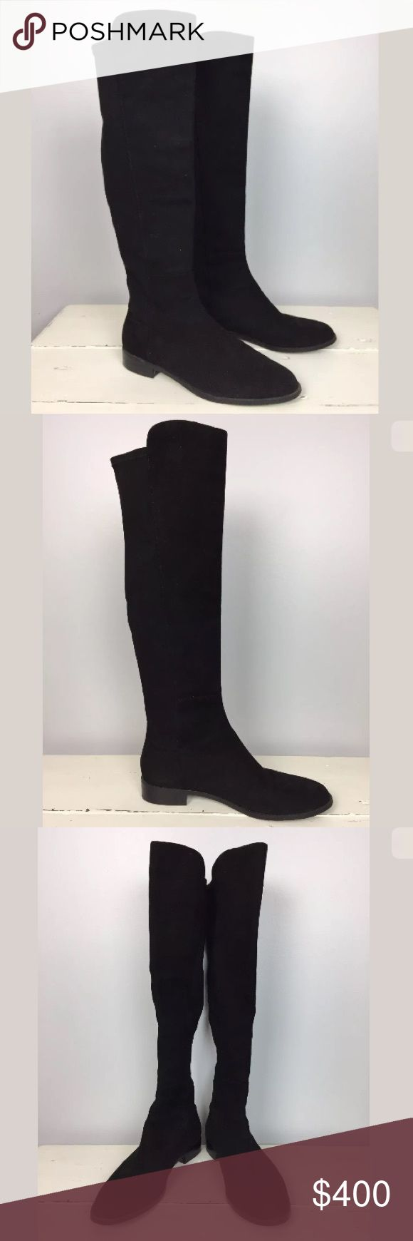 Stuart Weitzman 5050 Boots Black Suede Stuart Weitzman 5050 Boot Black Suede, VERY lightly worn & in great condition! Stuart Weitzman Shoes Over the Knee Boots