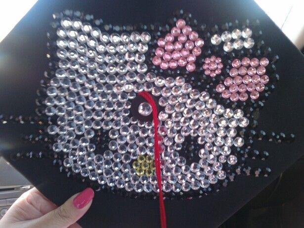 hello kitty graduationcap | hello kitty graduation cap