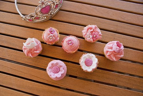 Cupcakes para una princesa / Cupcakes for a birthday princess