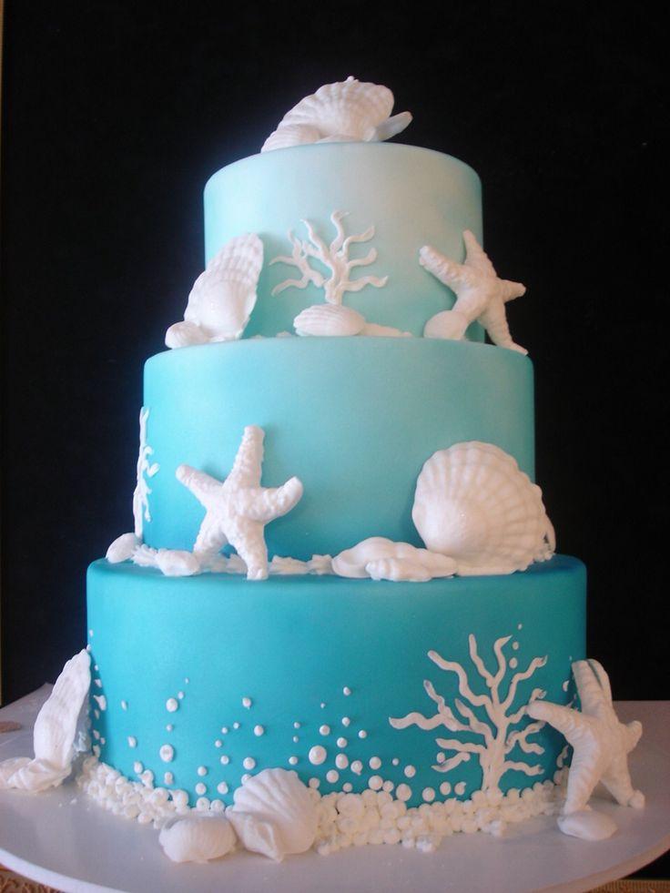 Cake #3 Under the Sea Sweet Sixteen