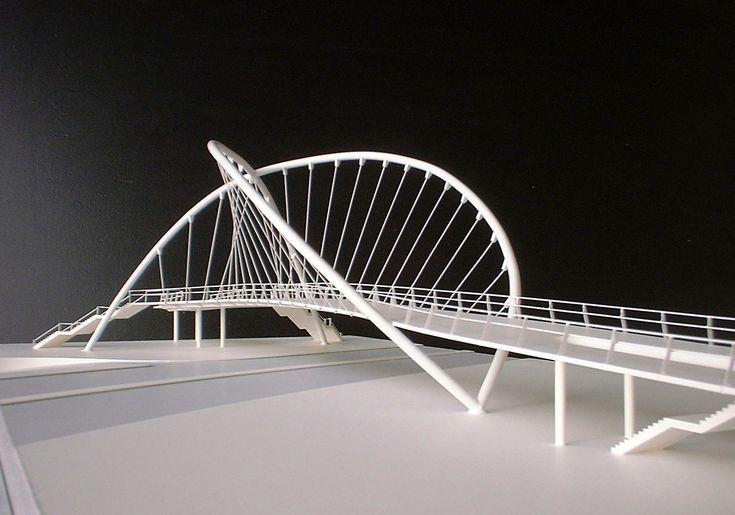 Bridge scale model model making scale model for Architecte structure