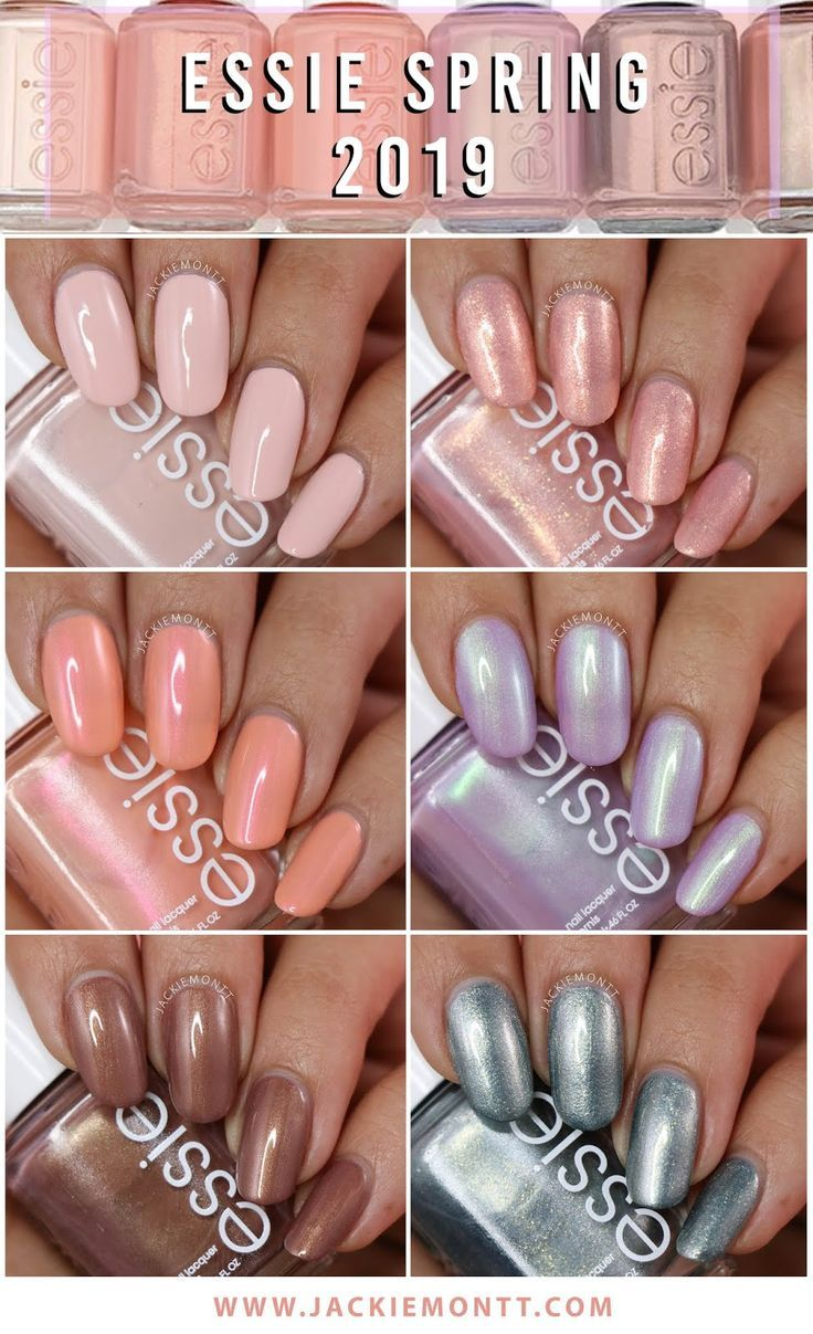Essie Spring 2019 Collection Swatches And Review With Images