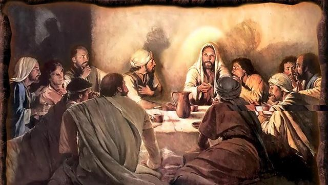 Passover with disciples