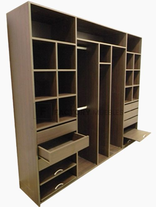 Placard 250 de Melamina- Factory Muebles - fabrica de muebles de melamina, placards, racks lcd, muebles