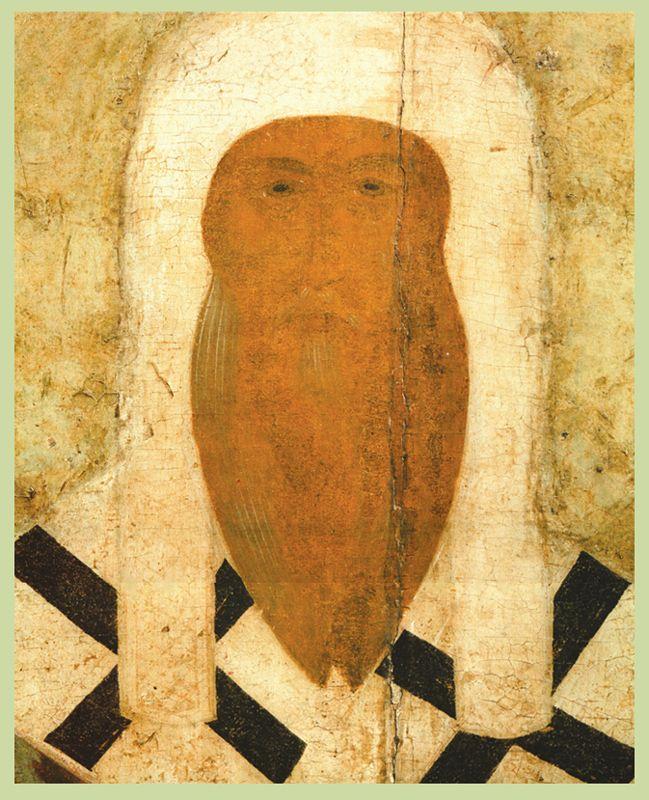 Фрагмент. Конец  XV в.   Деонисий.  Алексий Митрополит с житием
