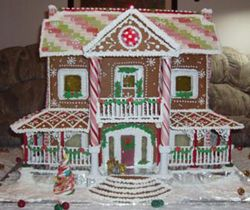 Gingerbread House Heaven...Everything you need for gingerbread houses...templates, recipes, step by step instructions and a lot of pictures for inspiration!!!