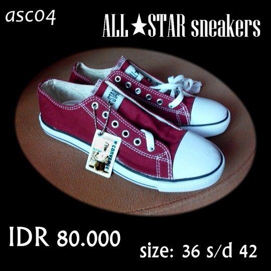 NONI SHOES adalah online shoes shop yg serius & terpercaya. Menjual sneakers for men, women, kids, and pantofel shoes. Harga 33.000 s/d 165.000. Memiliki toko fisik (real) di Darmo Trade Center, salah satu pusat perbelanjaan besar di Surabaya yg dikenal lengkap, good quality & harga miring/terjangkau.  *harga belum termasuk ongkir* *get special discount for buying 2 or more* Web: www.bukalapak.com/nuuninoni 3. Web: www.nonishoes.kaffah.biz 4. WhatsApp: 0838-5617-1817 5. PIN BBM: 746789F4