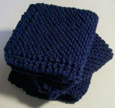quick & easy knitted dishcloth pattern | Lenten Recipes | Pinterest