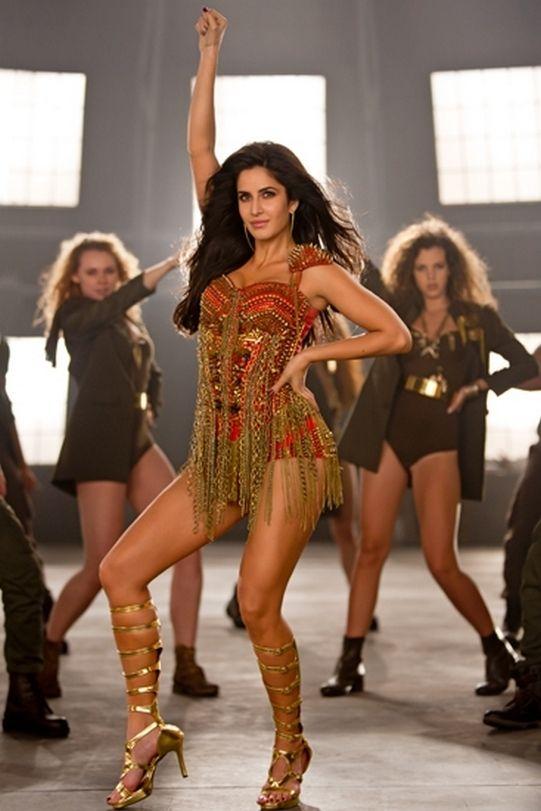 Katrina Kaif sports a chainmail bodysuit made by the film's stylist Anahita Adijania's team. #Bollywood #Fashion #Style #Beauty