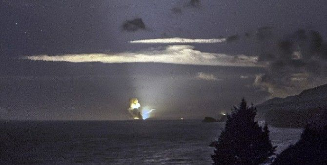 US top secret missile explodes into ashes in Alaska  A top-secret weapon being developed by the US military was destroyed four seconds after its launch from a test range in Alaska early on Monday after controllers detected a problem with the system, the Pentagon said.