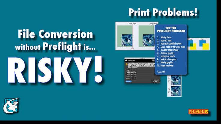 What is file conversion without preflight? Risky! File conversion in graphic design #publishing and print without #preflight is risking it. Risking that what is wrong in the original file will simply be passed on into the new file perhaps destined for the print-shop or your local printer. Even sometimes the conversion process itself from say #Quark to #InDesign will create new preflight or quality issues.  Here using Markzwares Q2ID we see how easy the converter works. And then we can see…