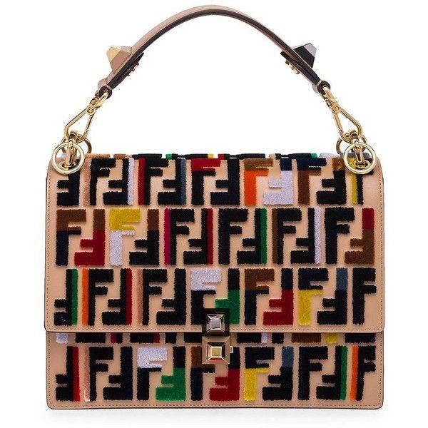 bd7b92e946 Fendi Kan I Velvet Stitch Handbag ( 3