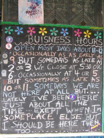 How it is in Nimbin, Australia