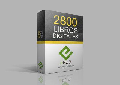 Llevate esta increíble colección de 2800 libros digitales en Español de 1100 grandes autores en formato ePUB + Promoción imperdible.