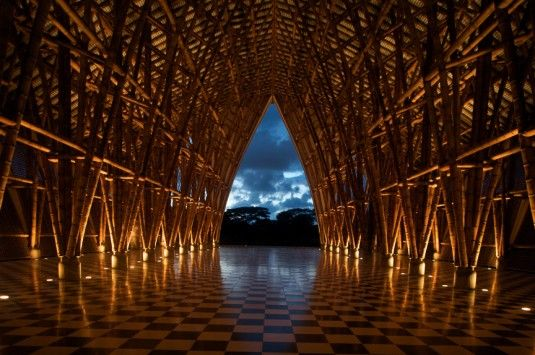 Bamboo: The Architectural League NY lecture, Simón Vélez, Bamboo Structures